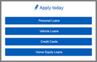 Apply for a Loan - Select Loan Type