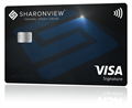 new visa signature card with emv chip and nfc
