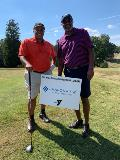 Sharonview attends the YMCA golf event and sponsors a hole