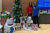 Toys for Tots collection at Park Road branch