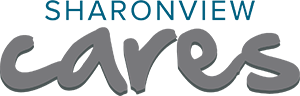 Sharonview Cares Logo